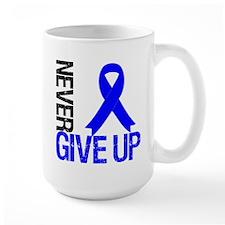 NeverGiveUp Colon Cancer Mug