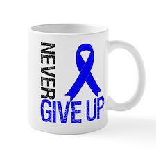 NeverGiveUp Colon Cancer Small Mug