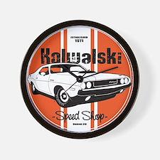 Kowolski Speed Shop Wall Clock
