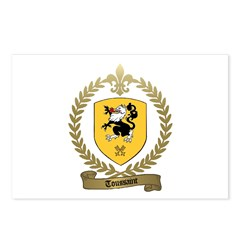 TOUSSAINT Family Crest Postcards (Package of 8)