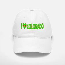 I Love-Alien Colorado Baseball Baseball Cap