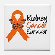 Kidney Cancer Survivor Tile Coaster