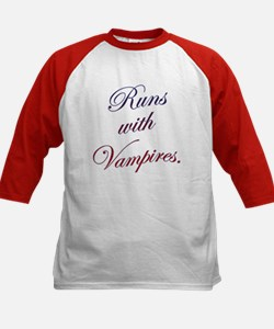 Runs with Vampires Tee