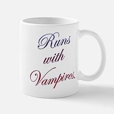 Runs with Vampires Mug