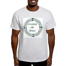 Free Scotland Arbraoth Declaration Grey T-Shirt