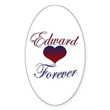 Edward Forever Oval Decal