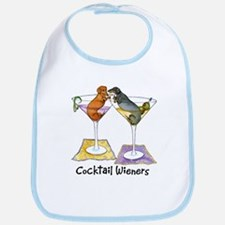 Double Cocktail Wiener Bib