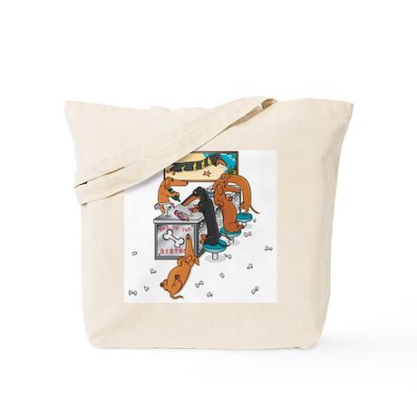 Bad to the Bone Tote Bag