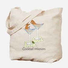 Cocktail Wieners (red) Tote Bag