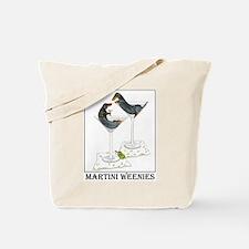 Martini Weenies Tote Bag