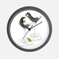 Martini Weenies Wall Clock