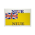 Niue Rectangle Magnet (10 pack)