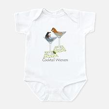 Cocktail Wieners (duo) Infant Bodysuit