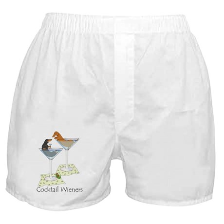 Cocktail Wieners (duo) Boxer Shorts