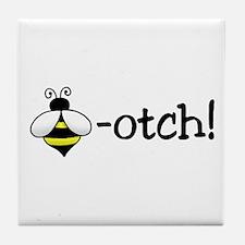 Beeotch Tile Coaster