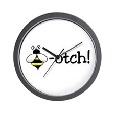 Beeotch Wall Clock