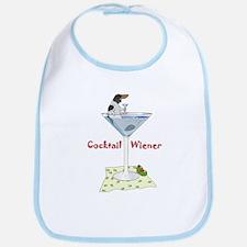 Piebald Cocktail Wiener Bib