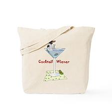 Piebald Cocktail Wiener Tote Bag