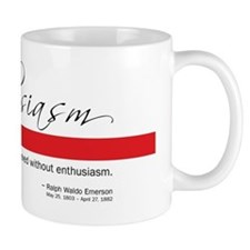 Emerson - Enthusiasm Quote Mug