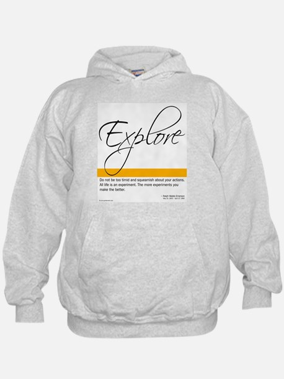 Emerson Quote - Explore - Hoody