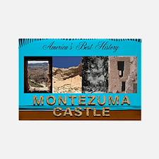ABH Montezuma Castle Rectangle Magnet