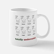 """totally underrated."" Mug"
