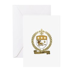 TOUPIN Family Crest Greeting Cards (Pk of 10)