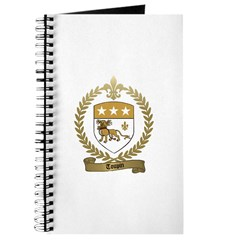 TOUPIN Family Crest Journal