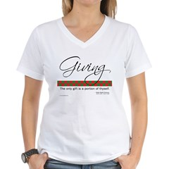 Emerson Quote - Giving - Shirt