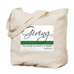 Giving - Emerson Quote Tote Bag