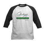 Giving - Emerson Quote Kids Baseball Jersey