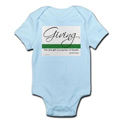 Giving - Emerson Quote Infant Bodysuit