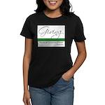 Giving - Emerson Quote Women's Dark T-Shirt