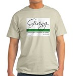 Giving - Emerson Quote Light T-Shirt