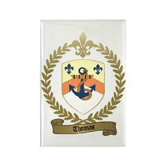 THOMAS Family Crest Rectangle Magnet (100 pack)