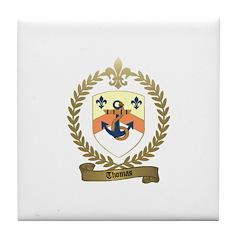 THOMAS Family Crest Tile Coaster