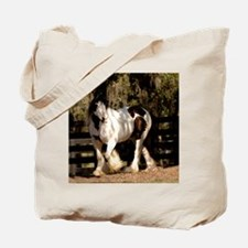 Cute Gypsy vanner horse Tote Bag