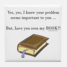 Seen my book Tile Coaster