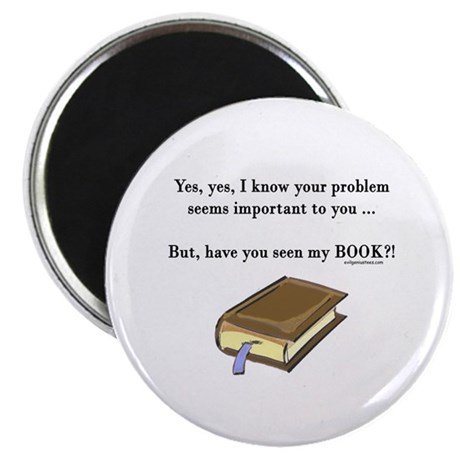 """Seen my book 2.25"""" Magnet (10 pack)"""