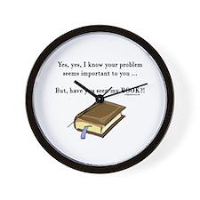 Seen my book Wall Clock