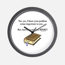 Seen my book Wall Clock
