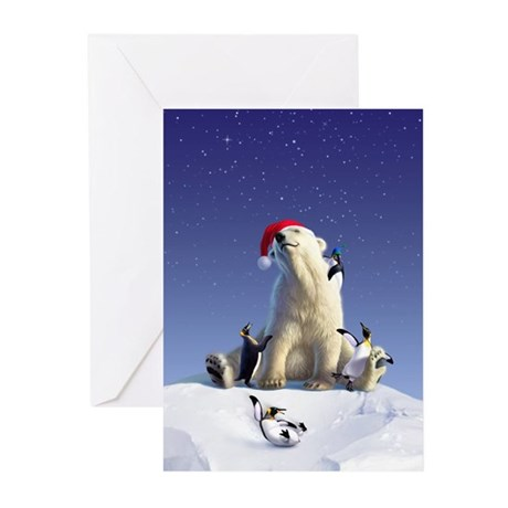 Penguin Pals 1 Greeting Cards (Pk of 20)