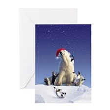 Penguin Pals 1 Greeting Card