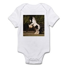 Cute Gypsy vanner Infant Bodysuit