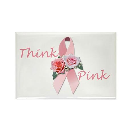 Breast Cancer Awareness Rectangle Magnet (100 pack