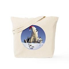 Penguin Pals 2 Tote Bag