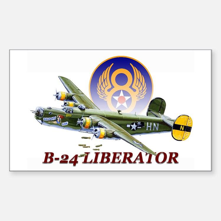 8th AF B-24 airplane Decal