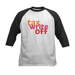 Tax Write Off Kids Baseball Jersey