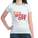 Tax Write Off Jr. Ringer T-Shirt