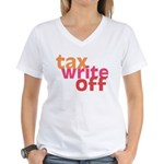 Tax Write Off Women's V-Neck T-Shirt